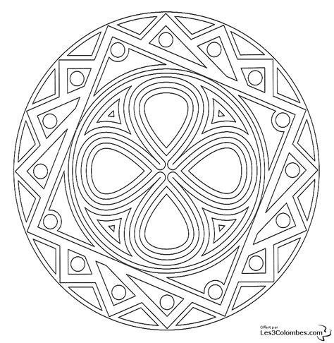 Coloriage De Mandala Coeur Pour Colorier