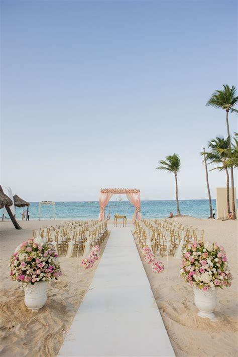 pink floral gazebo romantic beach wedding venue kukua