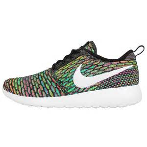 nike shoes color womens wmns nike rosherun flyknit roshe run multi color