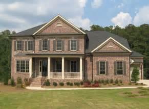 atlanta home buyers prefer brick exteriors new homes in