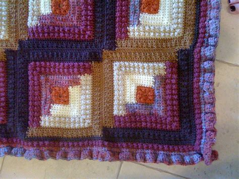 net logging pattern crochet log cabin afghan pattern free patterns for crochet