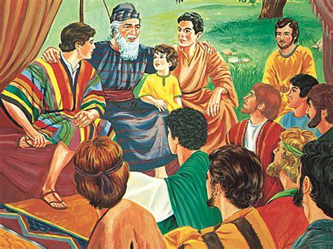 jw org tswana biblische geschichten jakob hat eine gro 223 e familie