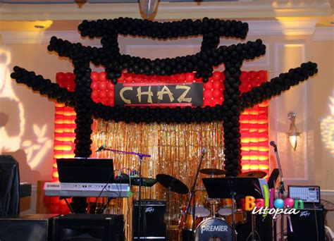 asian themed decorations san diego balloons decorations and entertainment
