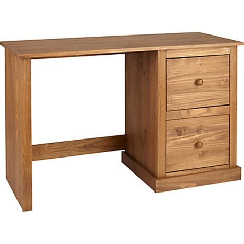 Pine Office Furniture For The Home Office York Solid Pine Office Desk Wax