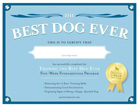 Service Dog Certificate Template 6 Best Templates Ideas Service Animal Certificate Template