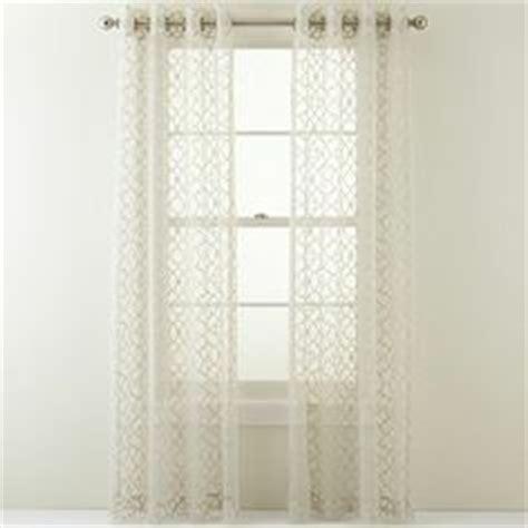 jcpenney door curtains linden street odette grommet top drapery panel jcpenney