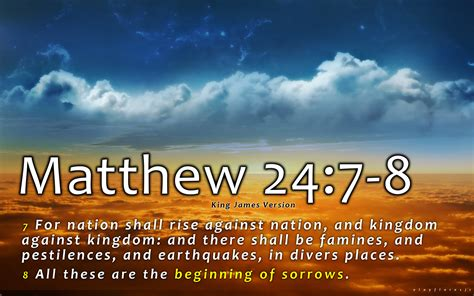 The End Of The Age matthew 24 the signs of the end a response to a visitor 5