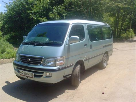 Toyota Hiace For Sale 2002 Toyota Hiace Photos 3 0 Diesel Automatic For Sale