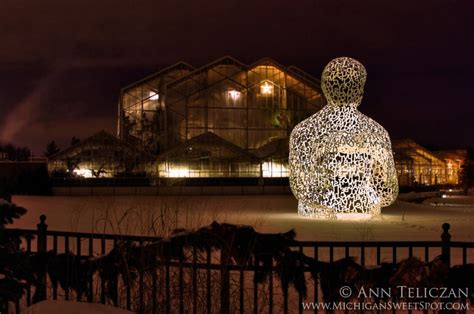 the frederik meijer gardens at christmas michigan sweet spot
