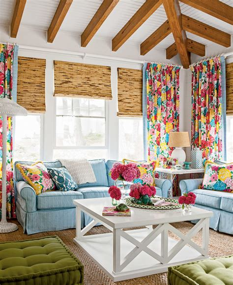 colorful family rooms colorful cottage decor house tour wayfair