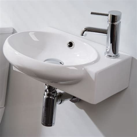 hand basins for bathrooms florence right hand cloakroom basin