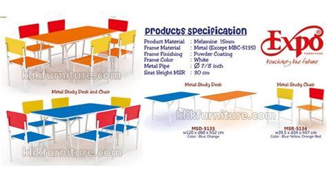 Model Dan Kursi Belajar kursi dan meja belajar kelompok anak tk expo