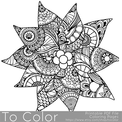 coloring books for grown ups celtic mandala coloring pages detailed poinsettia coloring page for