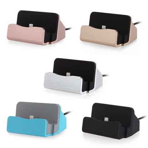 Dock Charger For Iphone 5 6 7 Original 1 new original sync data usb charger dock stand station cradle charging dock station for apple