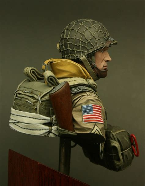 Owes To Airborne by Felduniform Us Paratrooper 82st Airborne Normandy 1944