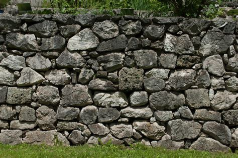free photo stone wall wall garden nature free image