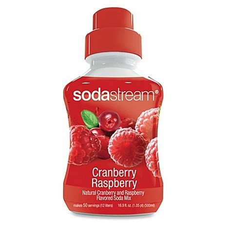 bed bath and beyond cranberry buy sodastream cranberry raspberry sodamix flavor from bed