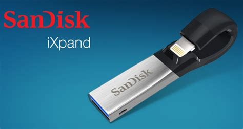 Sandisk Ixpand sandisk announces new ixpand usb 3 0 flash drive for iphone and redmond pie