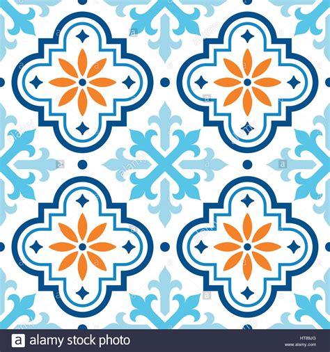 tile pattern moroccan tiles design seamless blue