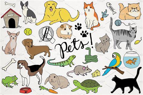 clip animals animals pets illustrations illustrations creative market