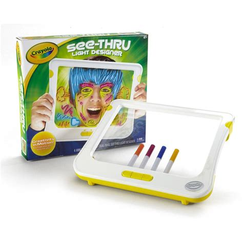 crayola light up board crayola see thru light up designer childrens kids