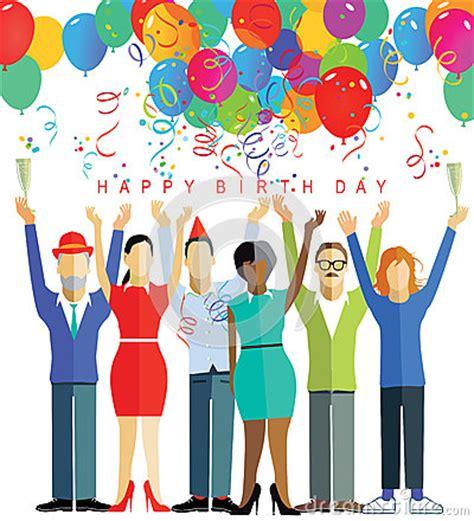 happy birthday party stock photo image 61079692