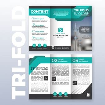 tri fold brochure publisher template publisher vectors photos and psd files free