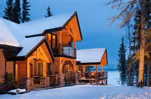Covered Front Porch Plans 10 snow covered timber homes timber home living