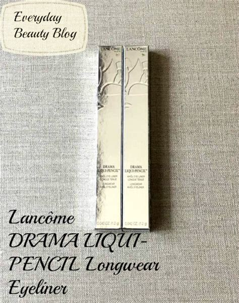 Pensil Alis Lancome lancome drama liqui pencil longer eyeliner everyday