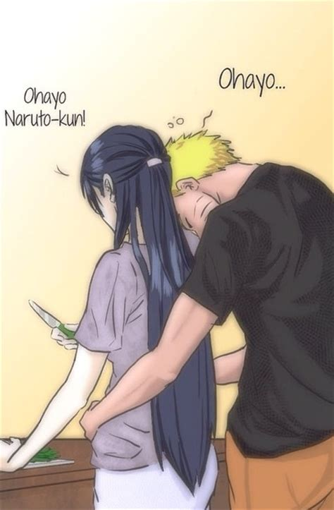 anime couple good morning naruto and hinata via tumblr image 2313084 by maria d