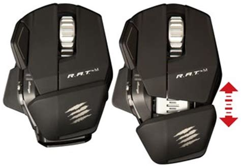 amazon.com: mad catz r.a.t. m wireless mobile gaming mouse