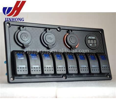 marine switch panel with usb marine jeep boat automotive rocker switch panel with 12v