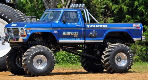 first bigfoot monster truck bigfoot 1 monster truck camionetas pinterest trucks
