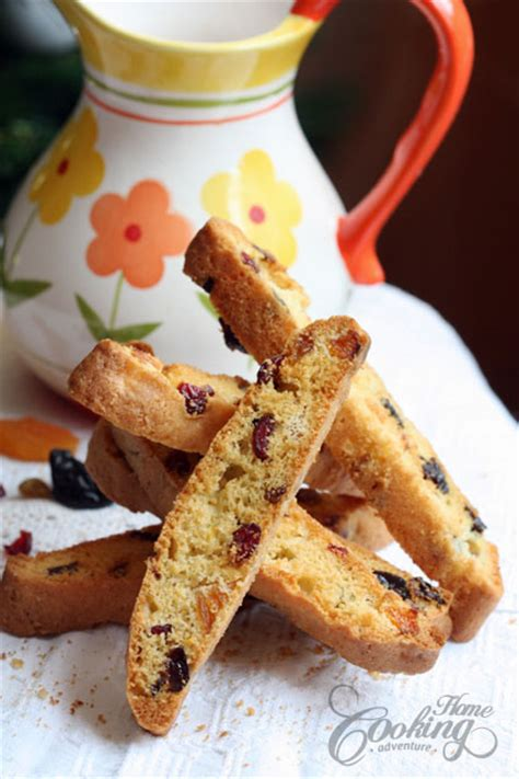 dried fruit biscotti home cooking adventure