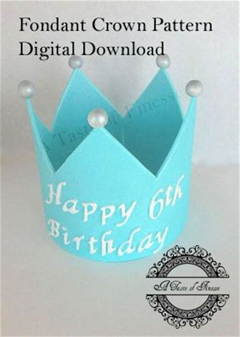 25 best ideas about fondant crown on pinterest fondant