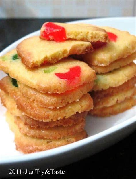 Buku Resep Kue Coklat Ide Masak resep cherry icebox cookies just try taste