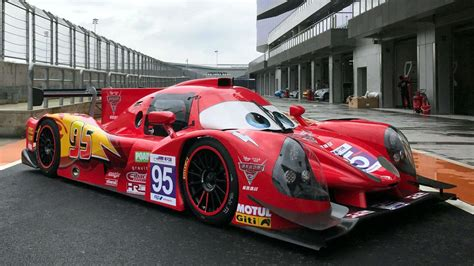 Lightning Race Cars by Lmp3 Race Cars Get Lightning Mcqueen Jackson Liveries