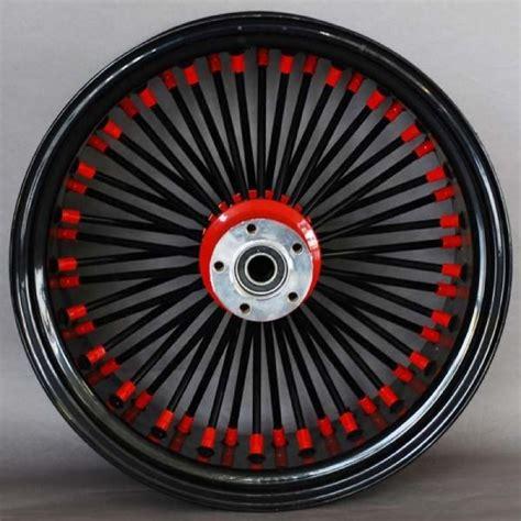Wheels X Trayn Green hubs black spokes nips black ridewright