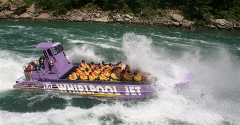 jet boat niagara falls usa from lewiston 1 hour jet boat tour on the niagara river