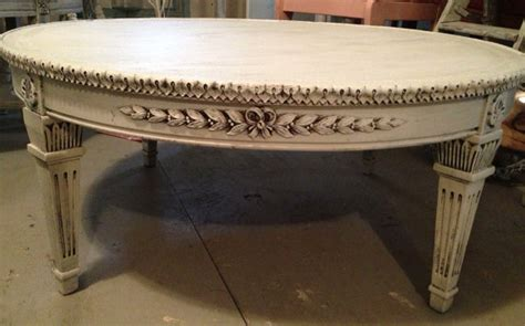 White Distressed Coffee Table Coffee Table Shabby White Ivory Distressed Finish