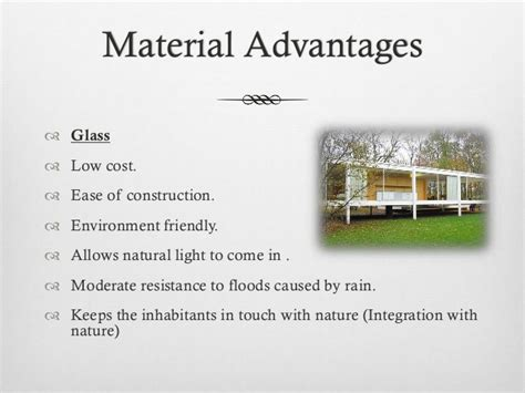 Cost To Build A Frame House farnsworth house construction details