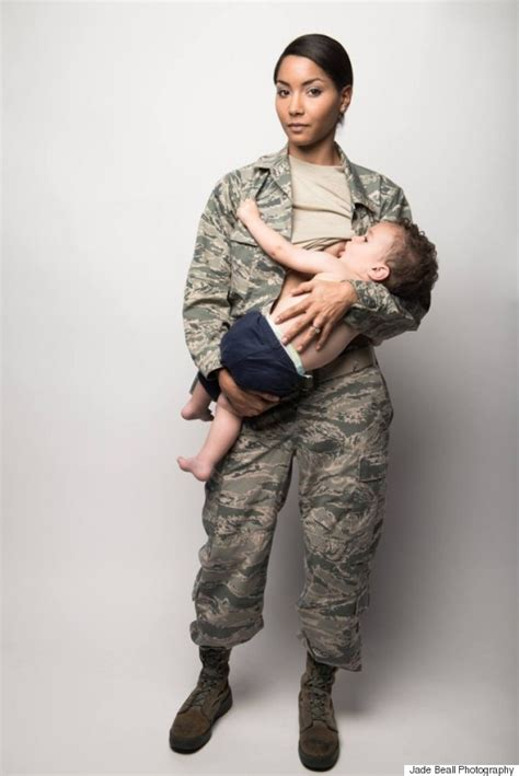 women hair in the air force air force mom breastfeeding in uniform is a stunning look