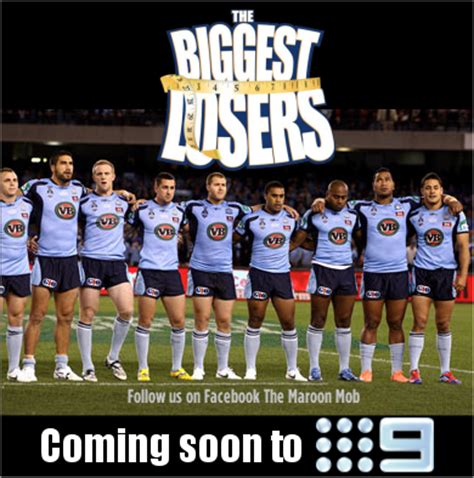 Nsw Blues Memes - the maroon mob coming soon to 9 the biggest losers
