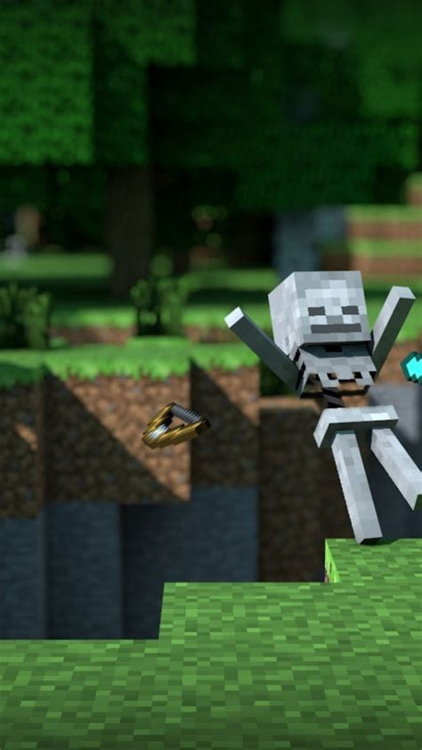 minecraft skeleton hd wallpaper hd latest wallpapers