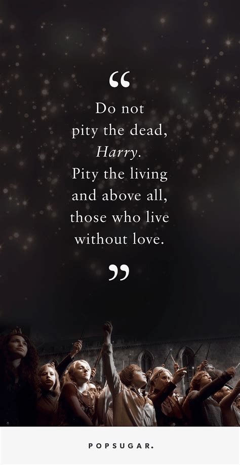 Harry Potter Quotes These Harry Potter Quotes About Loss Are