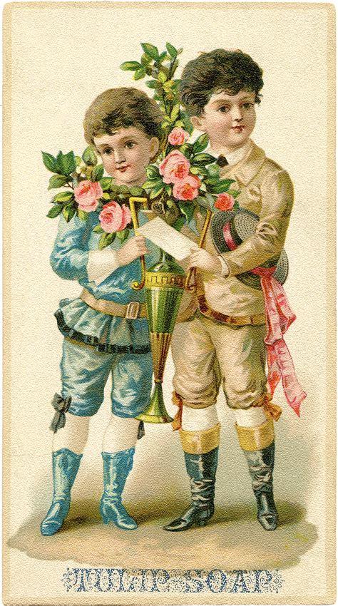 fancy victorian boys graphic  graphics fairy
