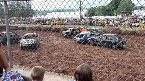 Garrett County Search Garrett County Fair 2015 Demolition Derby 4 Cylinder Heat 1 Pt 1