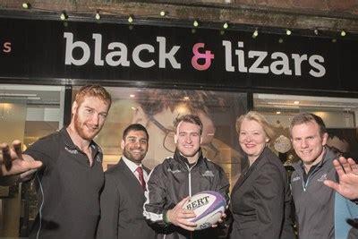 black & lizars teams up with glasgow warriors optician