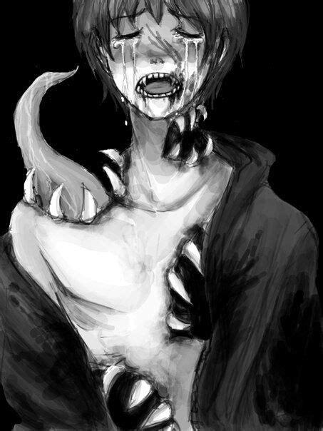 anime horror creepy guro anime boy horror creepy bloody