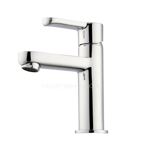 Modern Brass Bathroom Faucets Modern Pb Free Brass Deck Mounted Bathroom Sink Faucet